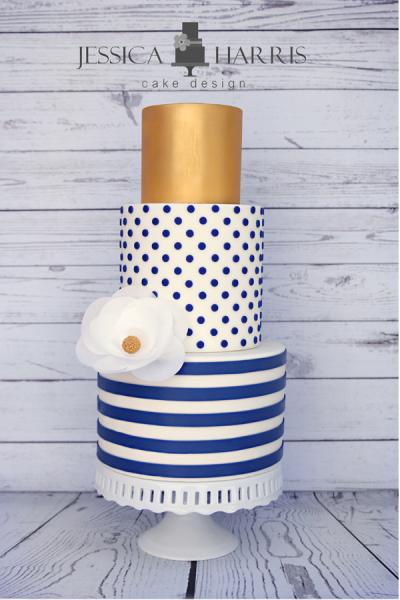 Cake Design Templates : Polka Dot Cake - Cake Designs and Templates