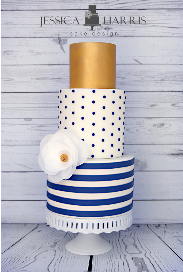 Cake Design Rivista Download : Small Polka Dot Cake Template - 4 Designs - Jessica Harris ...
