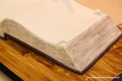 How To Make An Open Book Cake Jessica Harris Cake Design