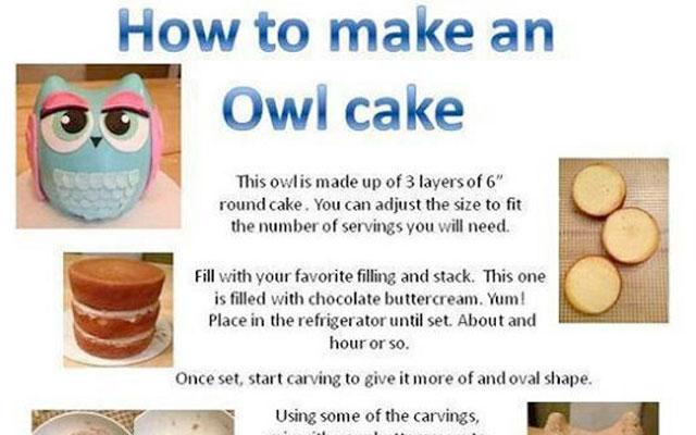 Super Cute Owl Cake Tutorial Jessica Harris Cake Design
