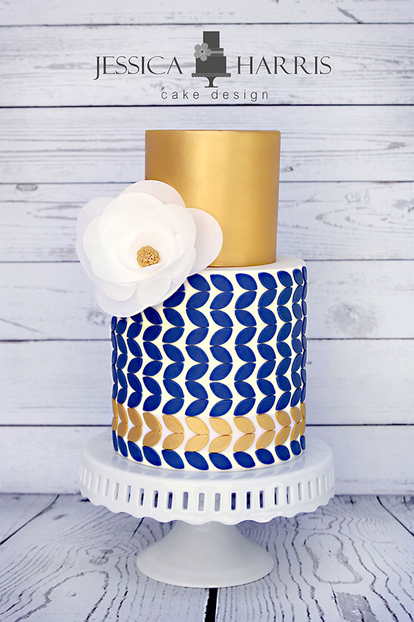 Clean Simple Cake Design With Jessica Harris : Design Shop - Jessica Harris Cake Design