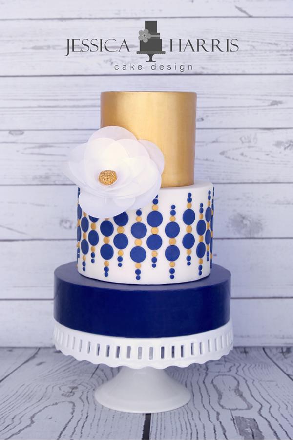 circle bubble cake template - 1 design